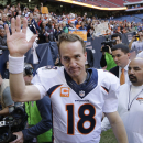 Manning about to join Favre in 500 TD club The Associated Press