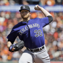 Anderson injured in Rockies' win over Giants The Associated Press