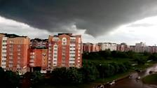 Suspected tornado rips through central Russian town