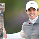 Northern Ireland�s Rory Mcilroy celebrates winning the BMW PGA Championsh</td></tr>