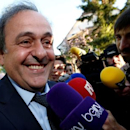UEFA President Michel Platini arrives for a hearing at the Court of Arbitration for Sport (CAS) in an appeal against FIFA's ethics committee's ban, in Lausanne, Switzerland April 29, 2016. REUTERS/Denis Balibouse