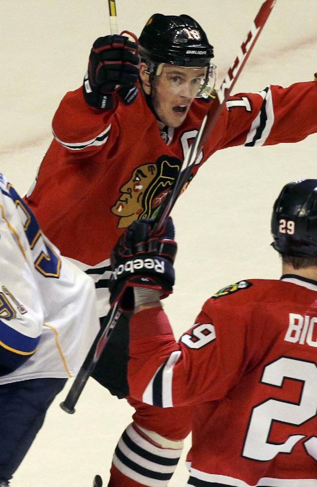 Blackhawks-Blues Preview