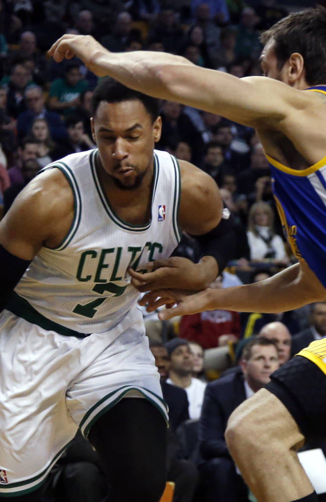 Thompson, Lee lead Warriors over Celtics 108-88