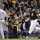 Martin's homer sparks Pirates over Brewers 4-2 (Yahoo Sports)