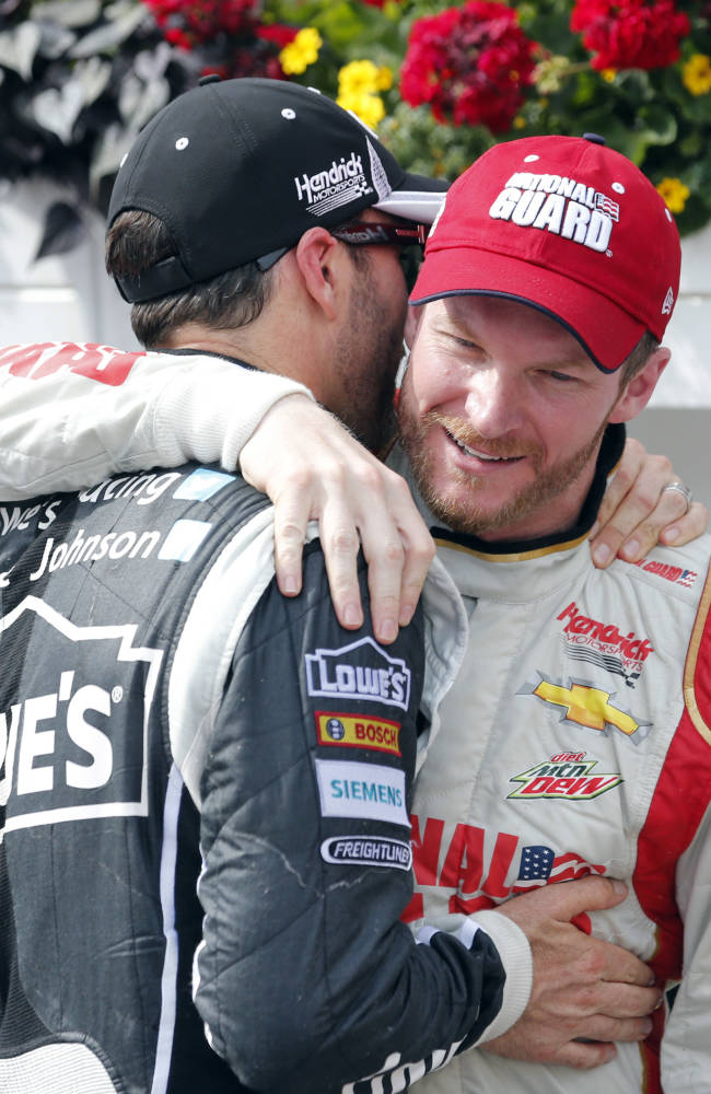 Letarte gets Earnhardt in a groove in final season