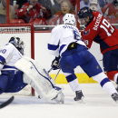 Backstrom leads Capitals past Lightning 4-2 The Associated Press