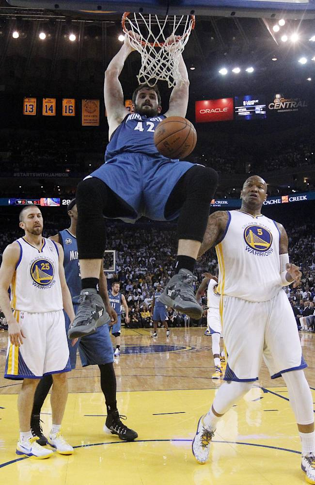 Warriors beat Wolves 130-120, secure 6th seed