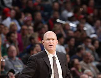 MILWAUKEE, WI - DECEMBER 22: Head Coach Scott Skiles of the Milwaukee Bucks watches from the sideline during the NBA game against the Cleveland Cavaliers on December 22, 2012 at the BMO Harris Bradley Center in Milwaukee, Wisconsin. (Photo by Gary Dineen/NBAE via Getty Images)