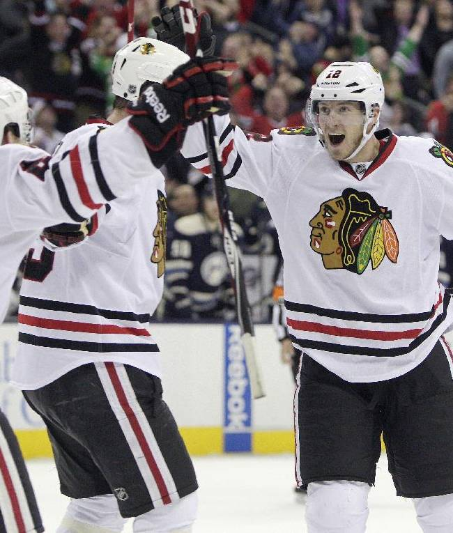Smith's goal with 3.7 seconds left lifts Chicago