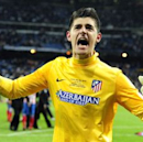 Atletico extends Courtois loan