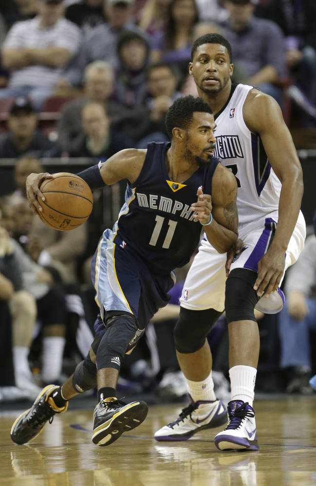 Grizzlies' Conley missing a week with ankle sprain