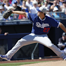 Kershaw whiffs 8 in 1st outing since taking liner off jaw The Associated Press