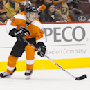Philadelphia Flyers' Vincent Lecavalier in action during the second period of an NHL hockey game against the Winnipeg Jets, Friday, Nov. 29, 2013, in Philadelphia. The Flyers win 2-1 The Associated Press