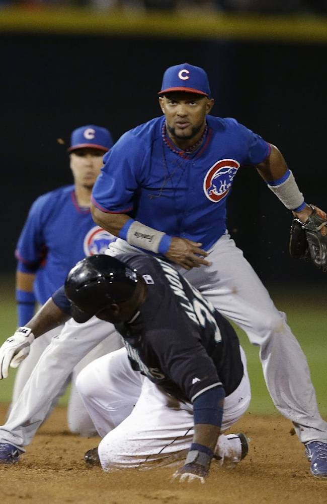 Mariners top Cubs 8-7 in 10 innings
