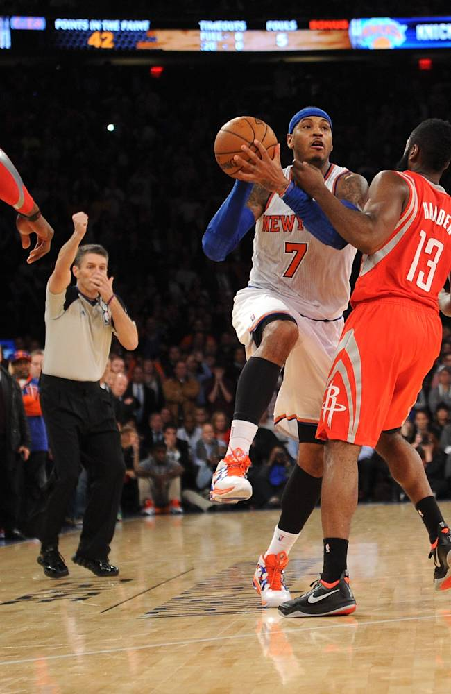 Houston Rockets v New York Knicks