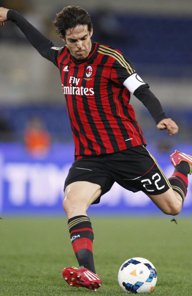 Kaka leaves AC Milan to sign with Orlando in MLS