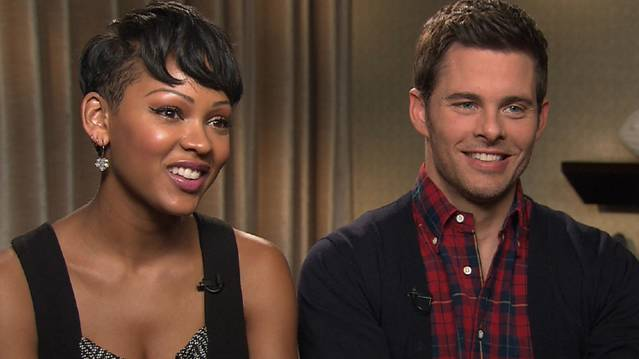 Meagan Good And James Marsden: Did They Get Hazed On 'Anchorman 2: The Legend...