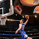LOS ANGELES, CA - MARCH 6: Blake Griffin #32 of the Los Angeles Clippers dunks against the Los Angeles Lakers at Staples Center on March 6, 2014 in Los Angeles, California. (Photo by Andrew D. Bernstein/NBAE via Getty Images)