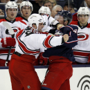 Ward makes early lead stand for Hurricanes, 4-2 The Associated Press