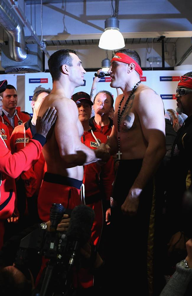 Wladimir Klitschko v Mariusz Wach - Weigh In