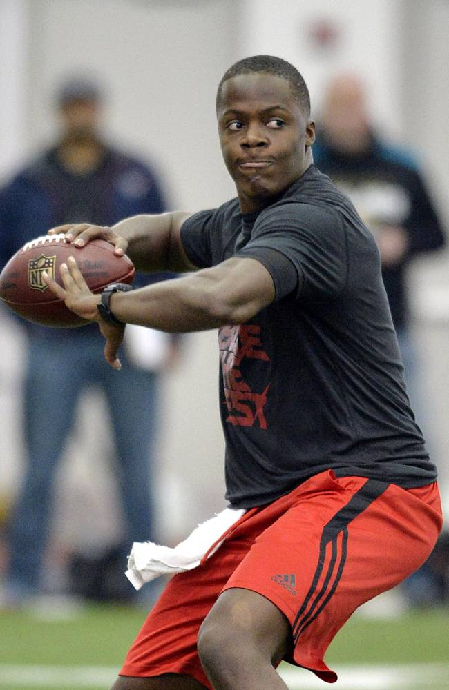 Teddy Bridgewater Pro Day