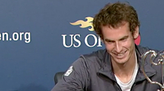 Andy Murray reflects on first Grand Slam