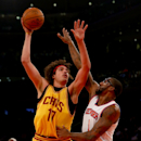 Cleveland Cavaliers v New York Knicks Getty Images