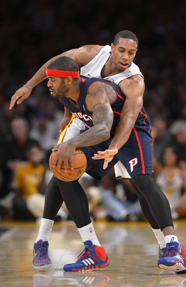 Jordan Hill leads Lakers past Pistons 114-99