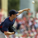 Boston Red Sox starting pitcher Chris Capuano throws during the second inning of an exhibition spring training baseball game against the St. Louis Cardinals, Wednesday, March 5, 2014, in Jupiter, Fla The Associated Press