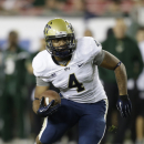Pittsburgh running back Rushel Shell (4)during the first quarter of an NCAA college football game against South Florida Saturday, Dec. 1, 2012, in Tampa, Fla. (AP Photo/Chris O'Meara)
