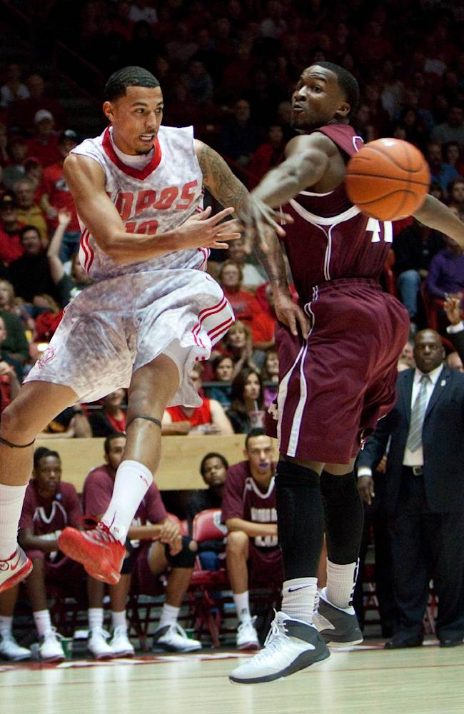 No. 23 New Mexico cruises past Alabama A&M, 88-52