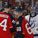 Jagr helps Panthers edge Lightning 4-3 The Associated Press