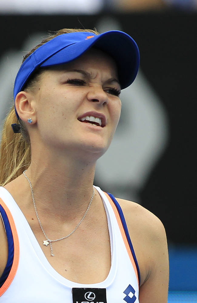 Radwanska upset by Mattek-Sands at Sydney