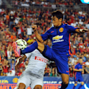 IMAGE DISTRIBUTED FOR GUINNESS INTERNATIONAL CHAMPIONS CUP - Manchester United midfielder Shinji Kagawa (26) in action during a match between Inter Milan and Manchester United in the 2014 Guinness International Champions Cup on Tuesday, July 29, 2014 in L