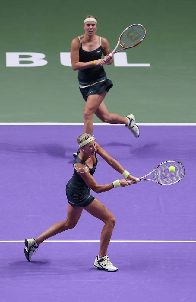 TEB BNP Paribas WTA Championships - Istanbul 2012: Day Five