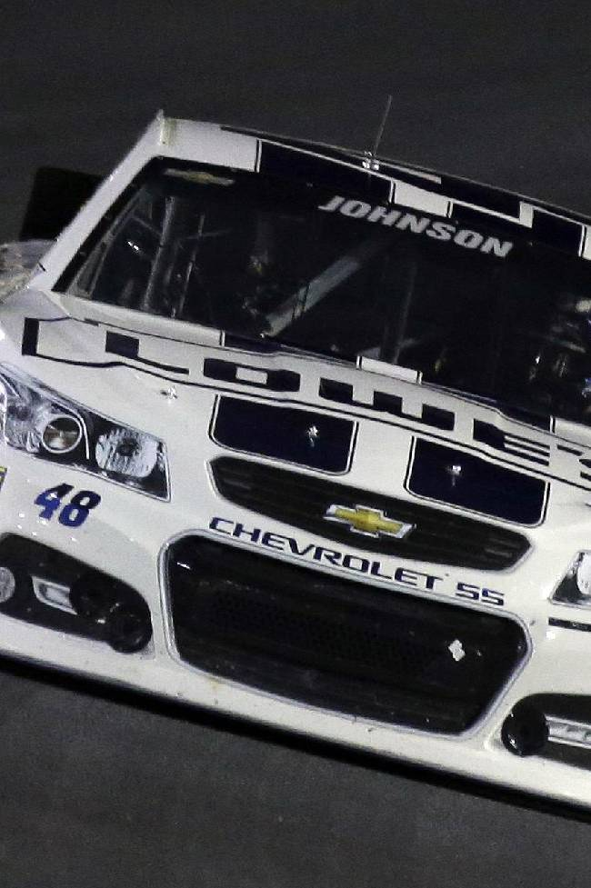Late caution helps Keselowski to 1st win of year
