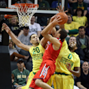 Oregon upsets No. 3 Arizona 64-57 The Associated Press