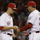 Leake leads Reds over Diamondbacks 3-0 The Associated Press