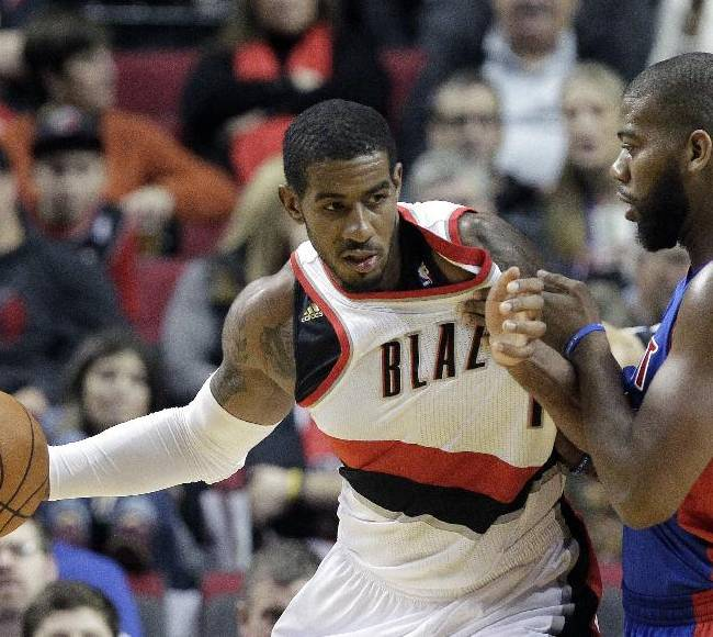 Trail Blazers down Pistons 109-103