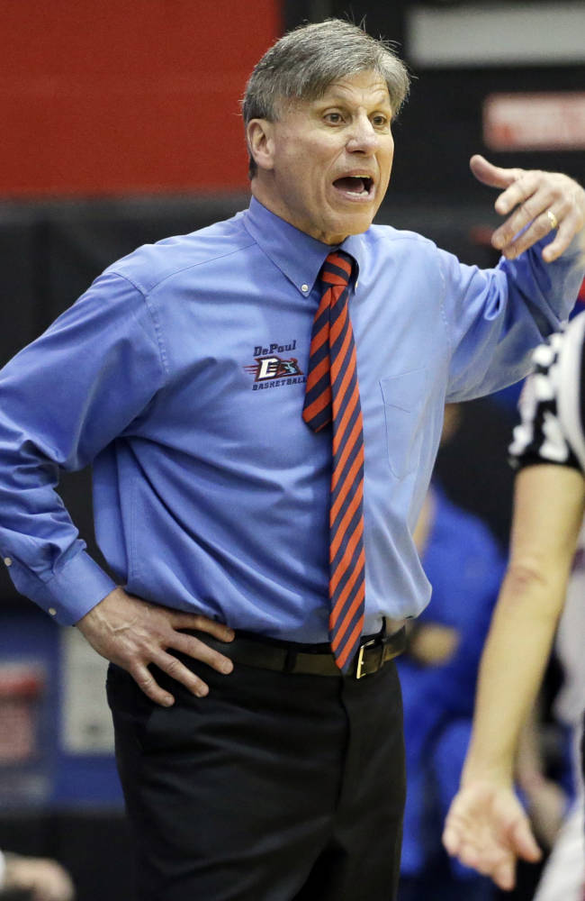 DePaul extends women's coach Bruno's contract