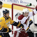 Predators use fast start in 4-2 win over Coyotes The Associated Press