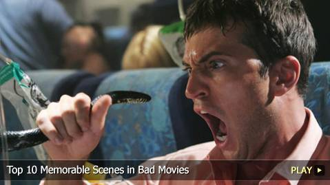Top 10 Memorable Scenes in Bad Movies