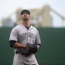 Polanco helps with tarp, then triples as Pirates top Padres The Associated Press