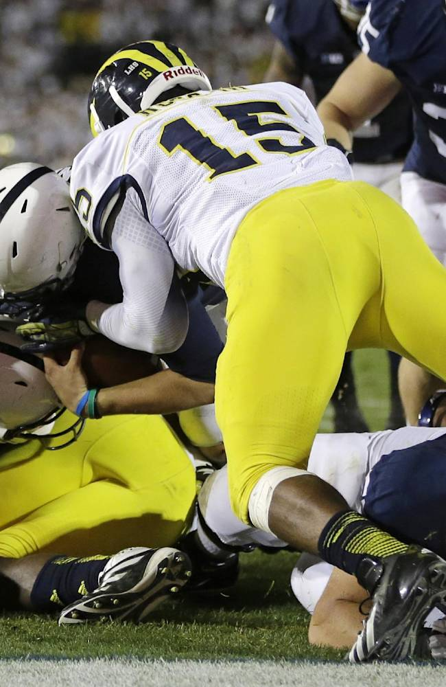 Unranked Michigan can evenly share blame for loss