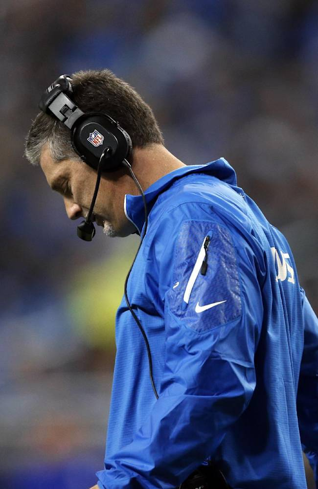 Lions fire coach Jim Schwartz after 5 seasons