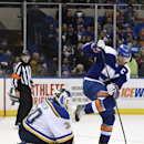 Martin Brodeur picks up win in relief for Blues The Associated Press