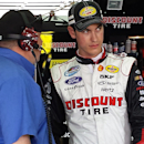 Logano on top at Charlotte