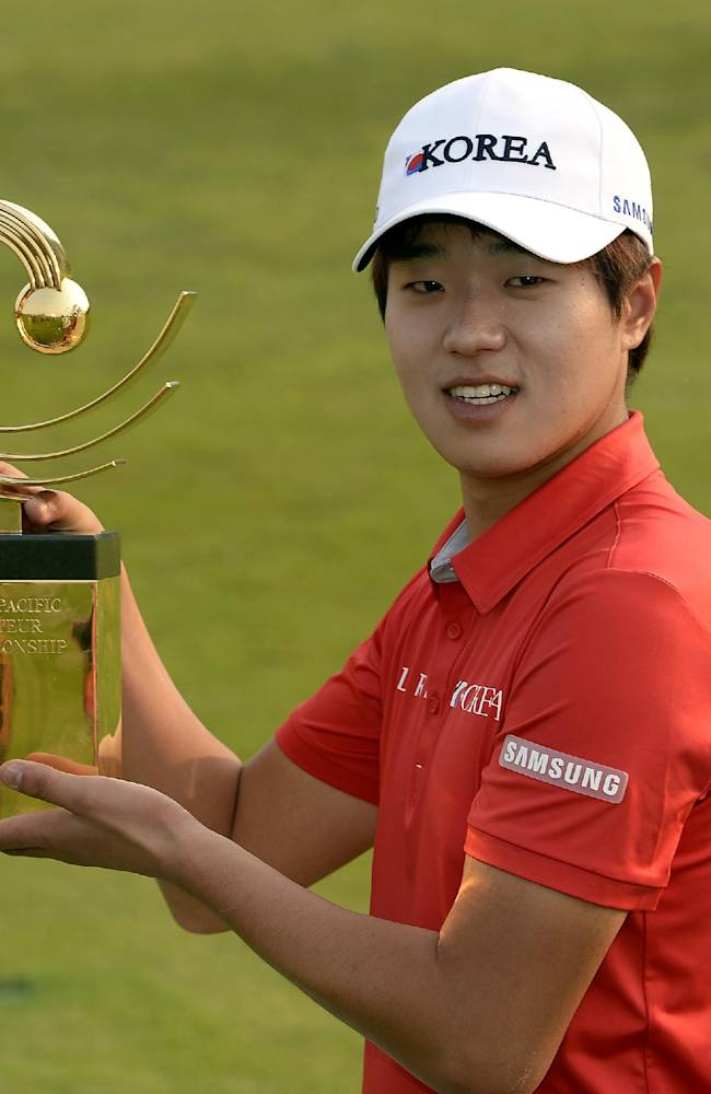 Lee wins Asia-Pacific to earn Masters invitation