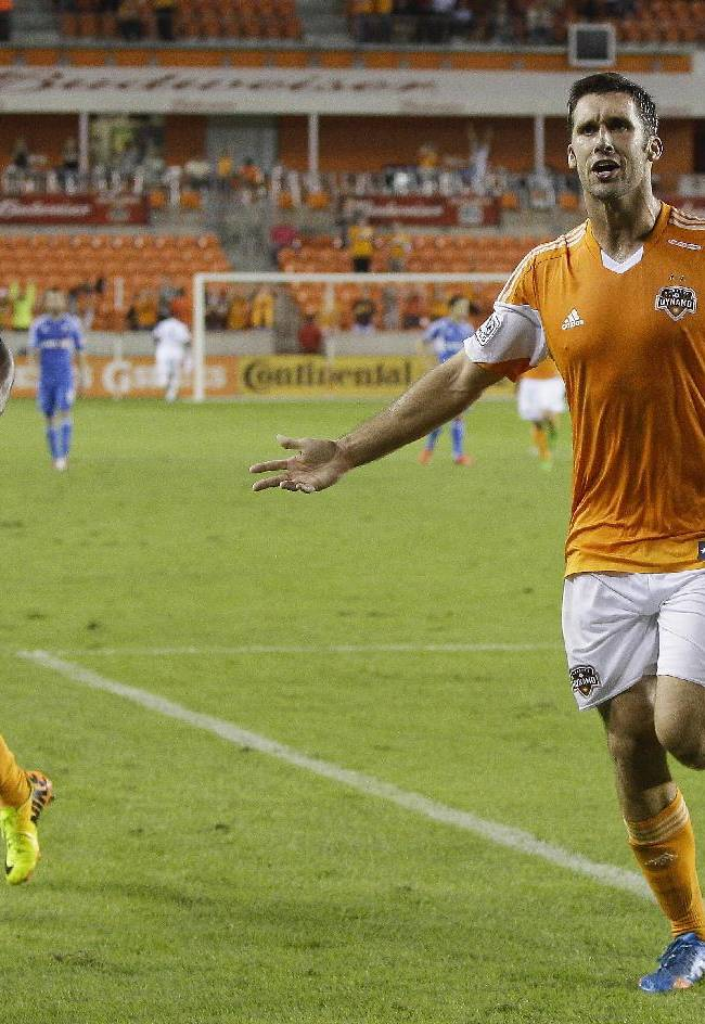 Will Bruin scores, Dynamo tie Timbers 1-1
