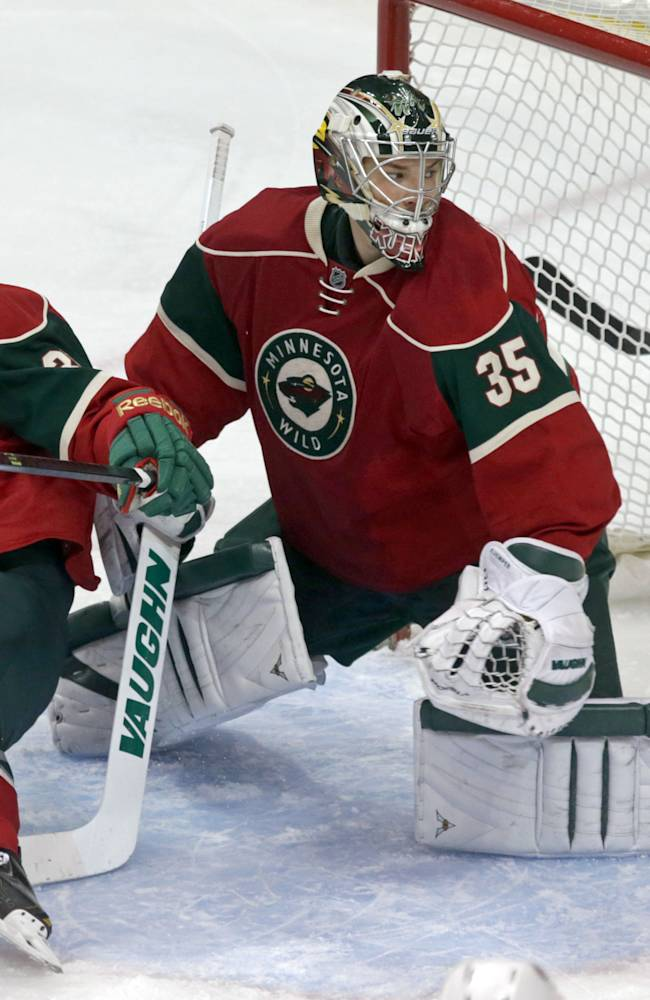 Disputed shootout goal leads Jackets over Wild 2-1